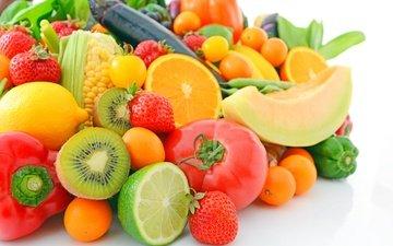 фрукты, ягоды, лесные ягоды, овощи, fruits, парное