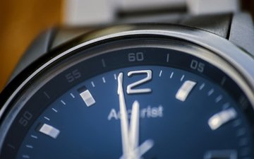 macro, background, watch, time