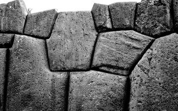 stones, texture, black and white, stone