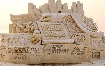 арт, песок, искусство, скульптура, песка, фестиваль