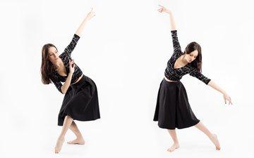 девушка, поза, движение, танец, alexandra