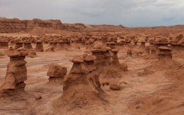 каньон, красота, сша, штат юта, гоблин долина, чудеса природы.