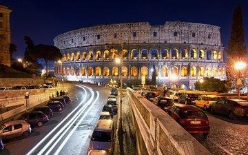 италия, колизей, рим, памятник архитектуры, лацио, сан-паоло, амфитеатр