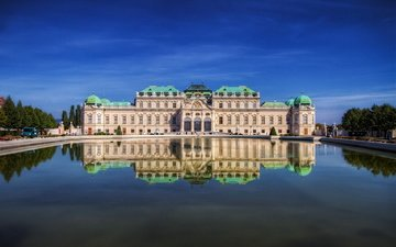 замок, австрия, дворец, вена, бельведер, miroslav petrasko
