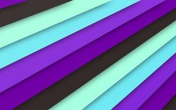 текстура, линии, черный, голубой, материал, сиреневый