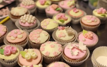 sweet, decoration, cakes, cupcakes