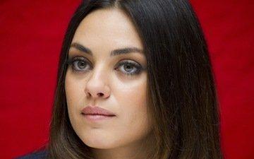 portrait, actress, mila kunis