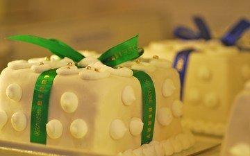 лента, сладкое, выпечка, торт, безе
