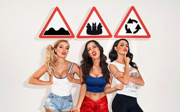 group, girls, makeup, silver, signs, sexy, music, serebro, seryabkina