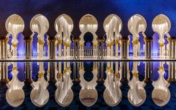 города, город, оаэ, столица, абу-даби, мечеть шейха зайда, объединённые арабские эмираты, абу - даби, sheikh zayed grand mosque