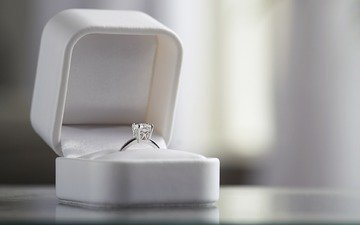 ring, wedding, box, decoration