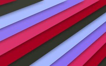 текстура, линии, красный, голубой, розовый, материал