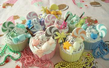 sweet, decoration, cakes, dessert, cupcake, cupcakes