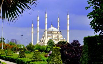 park, turkey, mosque, sabanci, adana, include merkez mosque