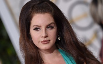 girl, portrait, music, hair, face, singer, celebrity, lana del rey