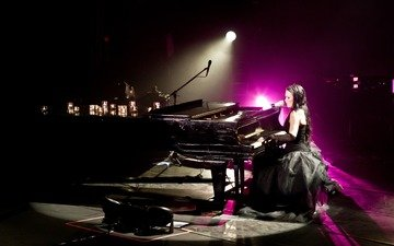 live, composer, pianist, act1, tarja, tarja turunen, finnish rock singer, finnish, rock singer