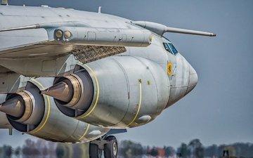 самолет, шасси, турбины, awacs e3, aeroplane, raf