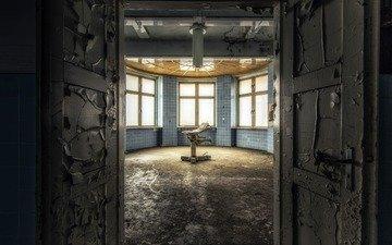 door, office, entrance