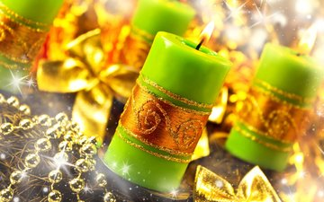 candles, new year, decoration, color, fire, christmas, accessories, noel mumlar, aksesuarlar, dekorasyon, yeni yıl, tatil, yangın, renk