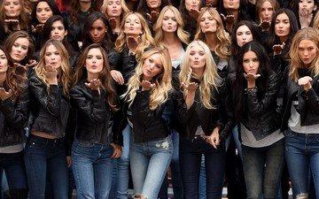 девушки, модели, адриана лима, кэндис свейнпол, бехати принслу, алессандра амброcио, карли клосс, эльза хоск, victoria`s secret, модел