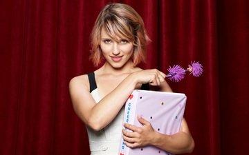 blonde, actress, dianna agron