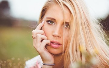 девушка, блондинка, фотограф, girl, photographer, photography, florian seelmann