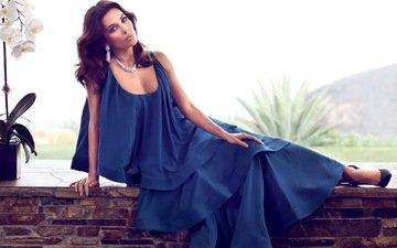 платье, поза, актриса, ева лонгория, eva longoria