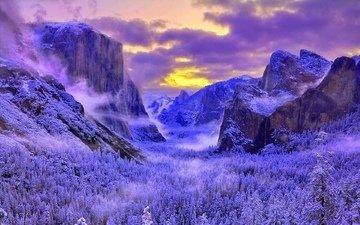 калифорния, йосемити, национальный парк