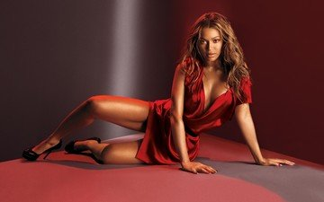 girl, dress, look, legs, hair, singer, beyonce