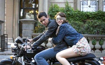 девушка, парень, любовь, мотоцикл, объятия, марио касас, maria valverde, три метра над уровнем неба