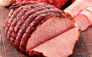 мясо, ветчина, нарезка, мясные продукты