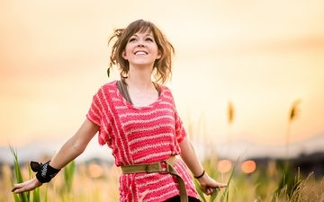 nature, girl, summer, lindsey stirling, lindsay stirling