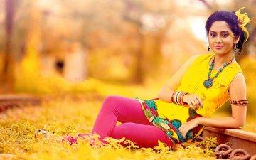 поза, красавица, губы, смайл, грань, красива, знаменитост, индеец, миленькая, брюнет, хорошенькая, волос, взор, болливуд, gевочка, aктриса, miya george, модел