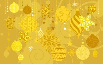new year, texture, decoration, winter, vector, toys, christmas, postcard