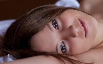 взгляд, красавица, смайл, миленькая, nikia a, взор, gевочка, модел