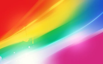 abstraction, line, rays, color, rainbow