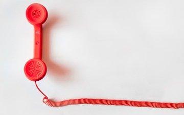 красный, телефон, трубка, связь, краcный, коммуникации, telephone, маркетинг, contact, вызов