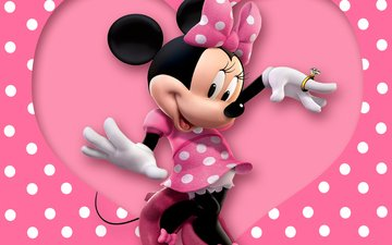 heart, ring, bow, mickey mouse, disney