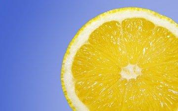 background, fruit, lemon, citrus, slice