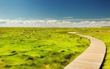 небо, дорога, трава, облака, горизонт, сша, штат массачусетс, настил