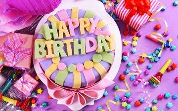 свечи, день рождения, торт, кулич, декорация, день рождение, сладенько, довольная