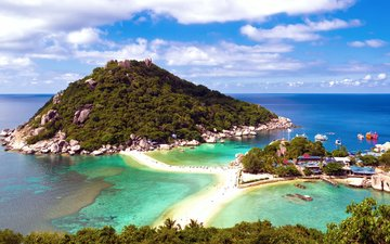 море, отдых, остров, курорт