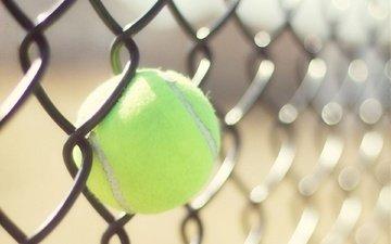 забор, сетка, тенис, спорт, мяч, теннис, бал