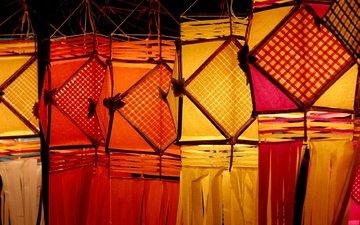 lanterns, india, diwali festival, mumbai, maharashtra