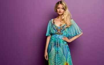 style, girl, background, dress, look, hair, face, cutie, isabel