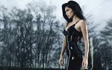 girl, look, hair, face, singer, nicole scherzinger