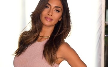 girl, portrait, hair, face, singer, nicole scherzinger
