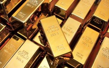 металл, золото, метал, непорочность, слитки, polished gold bullion, kilo
