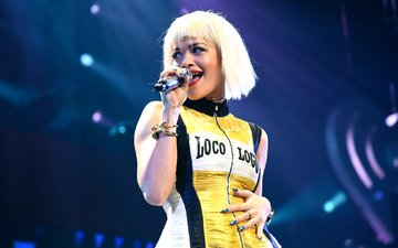 girl, hair, face, singer, british singer, rita ora, rita sahatçiu ora, kiis fm's, jingle ball