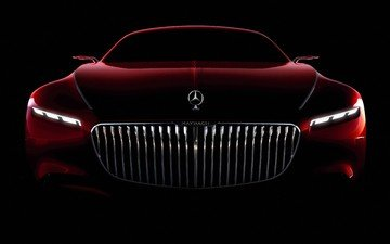 coupe, mercedes, maybach